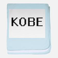 Kobe Digital Name Design baby blanket