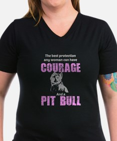 Courage and a Pit Bull T-Shirt