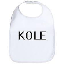 Kole Digital Name Design Bib