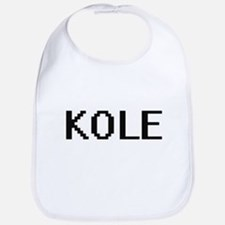 Kole Digital Name Design Bib