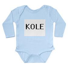 Kole Digital Name Design Body Suit