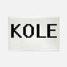Kole Digital Name Design Magnets