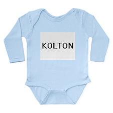 Kolton Digital Name Design Body Suit