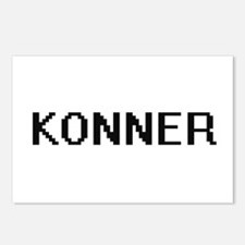 Konner Digital Name Desig Postcards (Package of 8)
