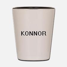 Konnor Digital Name Design Shot Glass