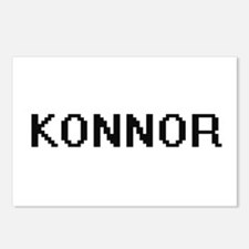 Konnor Digital Name Desig Postcards (Package of 8)