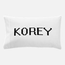 Korey Digital Name Design Pillow Case