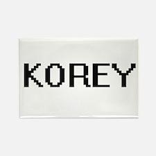 Korey Digital Name Design Magnets