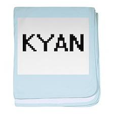 Kyan Digital Name Design baby blanket