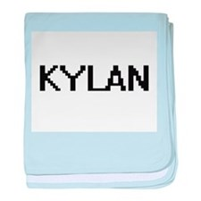 Kylan Digital Name Design baby blanket