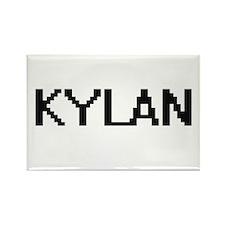 Kylan Digital Name Design Magnets