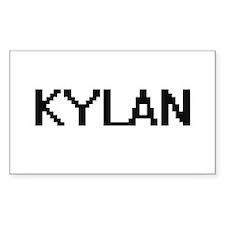 Kylan Digital Name Design Decal