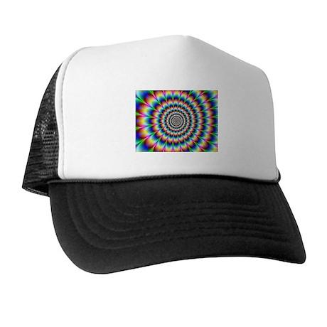 Optical Illusion Trucker Hat