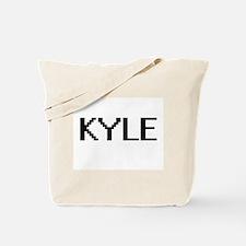 Kyle Digital Name Design Tote Bag