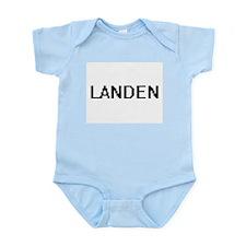 Landen Digital Name Design Body Suit