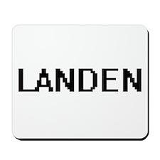 Landen Digital Name Design Mousepad