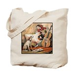 VINTAGE DOG ART: MUSIC COVER Tote Bag