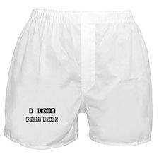 I Block love Ashmore Island Boxer Shorts
