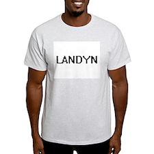 Landyn Digital Name Design T-Shirt