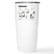 Cute Lawyer cartoon Travel Mug
