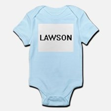 Lawson Digital Name Design Body Suit