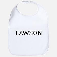 Lawson Digital Name Design Bib
