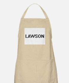 Lawson Digital Name Design Apron