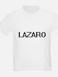 Lazaro Digital Name Design T-Shirt