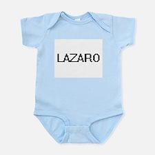 Lazaro Digital Name Design Body Suit