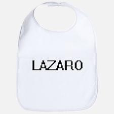 Lazaro Digital Name Design Bib