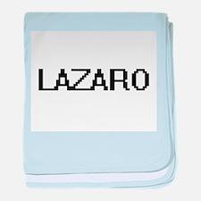 Lazaro Digital Name Design baby blanket