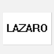 Lazaro Digital Name Desig Postcards (Package of 8)