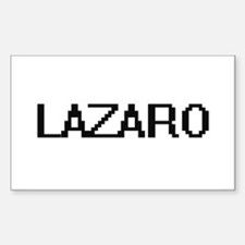 Lazaro Digital Name Design Decal