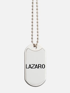 Lazaro Digital Name Design Dog Tags