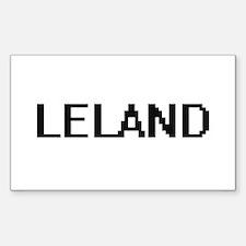 Leland Digital Name Design Decal