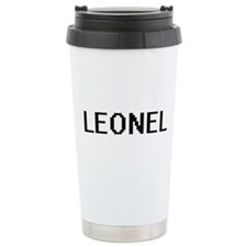 Leonel Digital Name Des Travel Mug
