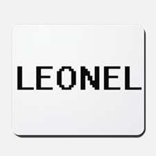 Leonel Digital Name Design Mousepad