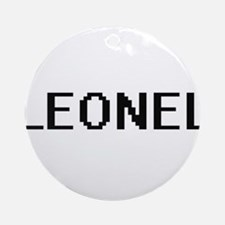 Leonel Digital Name Design Ornament (Round)