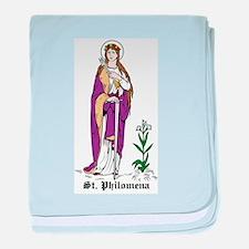 Unique Catholic faith baby blanket