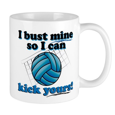 Bust Mine Vball Mug