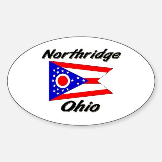 Northridge Ohio Oval Decal