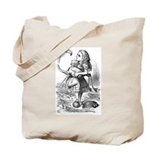 alice in wonderland vintage alice wonderl Tote Bag