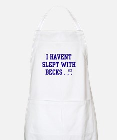 Slept With Becks BBQ Apron
