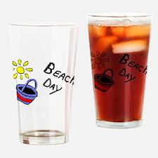 Beach Day Drinking Glass