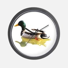 Self Reflection Mallard Wall Clock