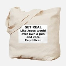 Get Real Tote Bag