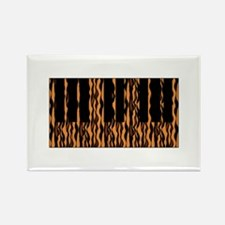 Tiger Rag Piano Rectangle Magnet