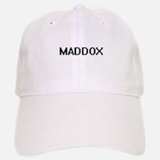 Maddox Digital Name Design Baseball Baseball Cap