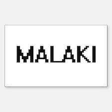 Malaki Digital Name Design Decal