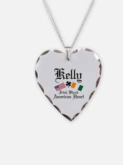 Cute Irish american Necklace Heart Charm
